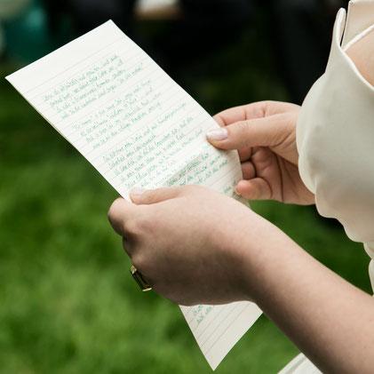 Das Eheversprechen einer Braut