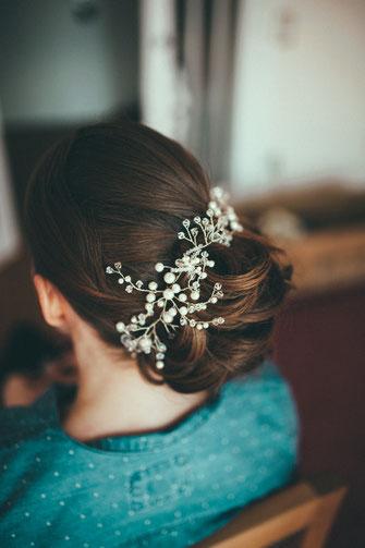 Wunderschöne Brautfriseur