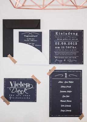 DIY Zauberhafte Papeterie für Eure Hochzeit: Einladungen, Tisch- und Menükarten