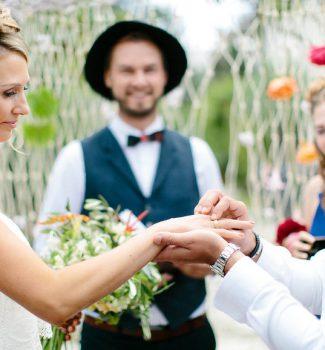 Hochzeitsfotograf München und freie Trauung mit Strauß & Fliege Traurednern