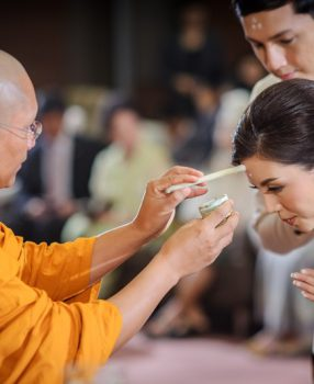 Free wedding ceremony in Bangkok