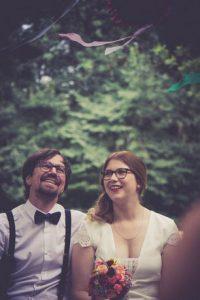 Trauung unter freiem Himmel mit Hochzeitsrednerin von Strauß & Fliege