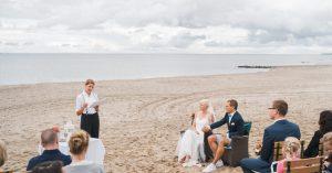 Freie Trauung am Strand, Heiraten am Meer, Traurednerin Strauß & Fliege, Freie Trauung Nordsee, Freie Trauung Strauß & Fliege
