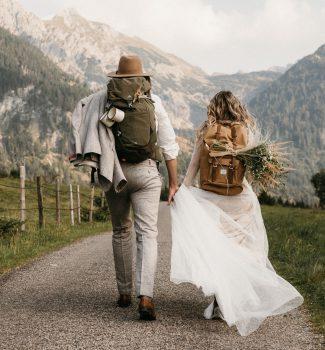 Hochzeit zu zweit: Elopement und Tiny Wedding