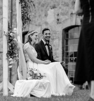 Freie Trauung im Freien mit Hochzeitsrednerin Carola Söllner