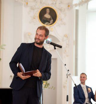 Freie Trauung mit Johann-Jakob Wulf in einem wunderschönen Barocksaal in Rostock