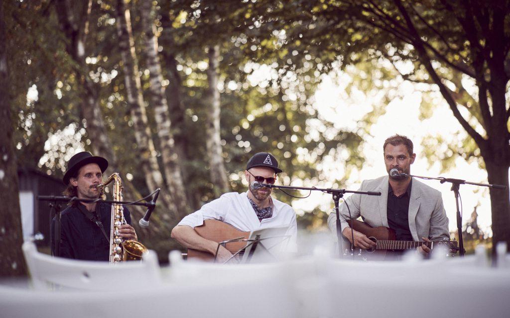 Musiker Trio mit Live Musik für Hochzeiten und freie Trauungen