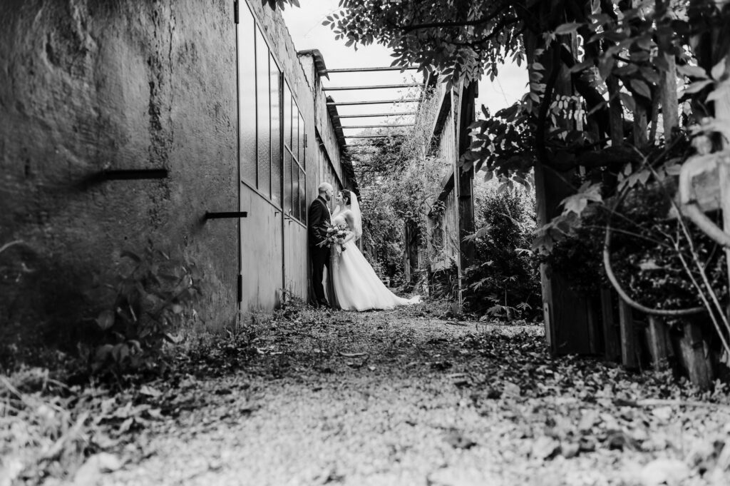 Freie Trauung in der alten Gärtnerei München