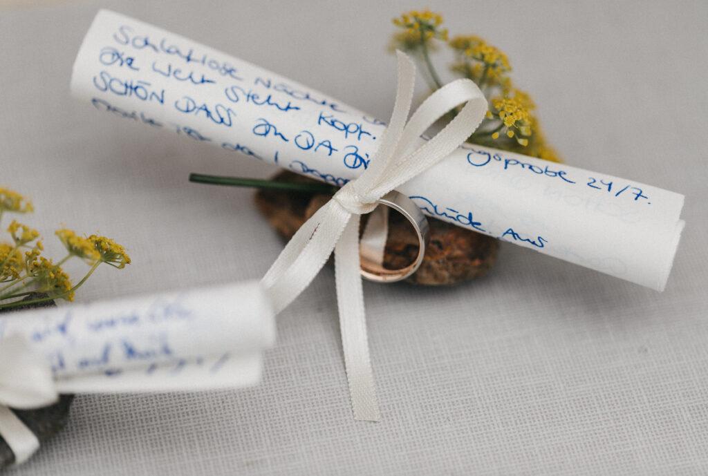 Eheversprechen schreiben | Inspiration und Beratung | Strauß & Fliege