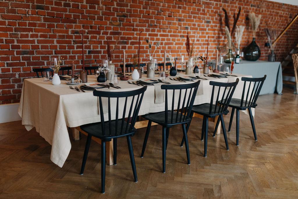 Hochzeitsdekoration Boho   Tischdekoration   Strauß & Fliege
