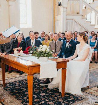 Freie Trauung Berlin mit Hochzeitsredner Dr. Patrick Diemling   Strauß & Fliege